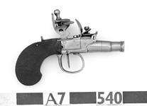 Thumbnail image of Flintlock pistol Miniature flintlock pistol