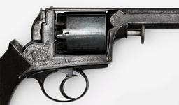 Thumbnail image of Percussion five-shot revolver - Adams Model 1851