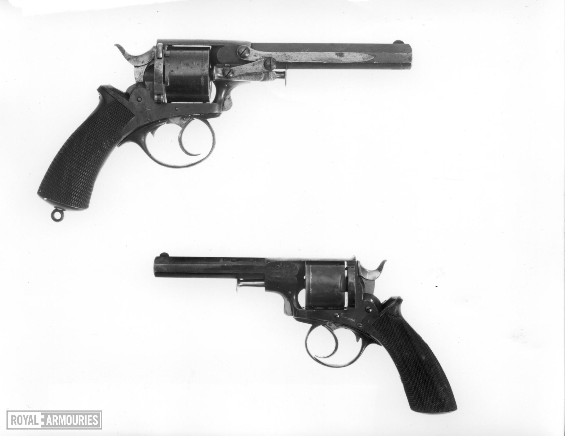Centrefire six-shot revolver - Webley Solid Frame Model