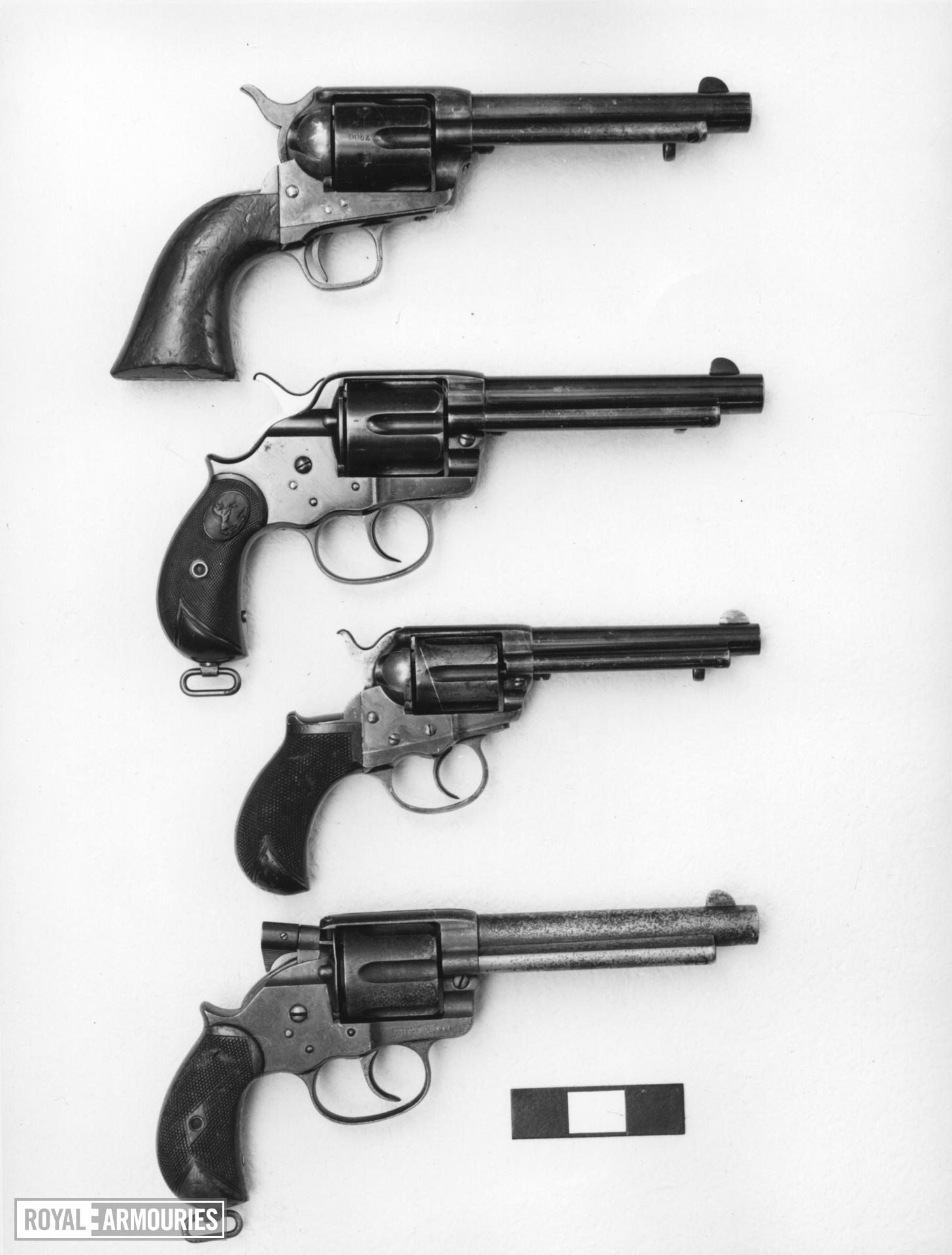 Centrefire six-shot revolver - Colt Lightning Model 1877