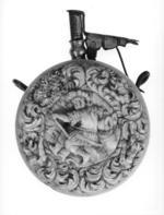 Thumbnail image of Powder flask Circular in form