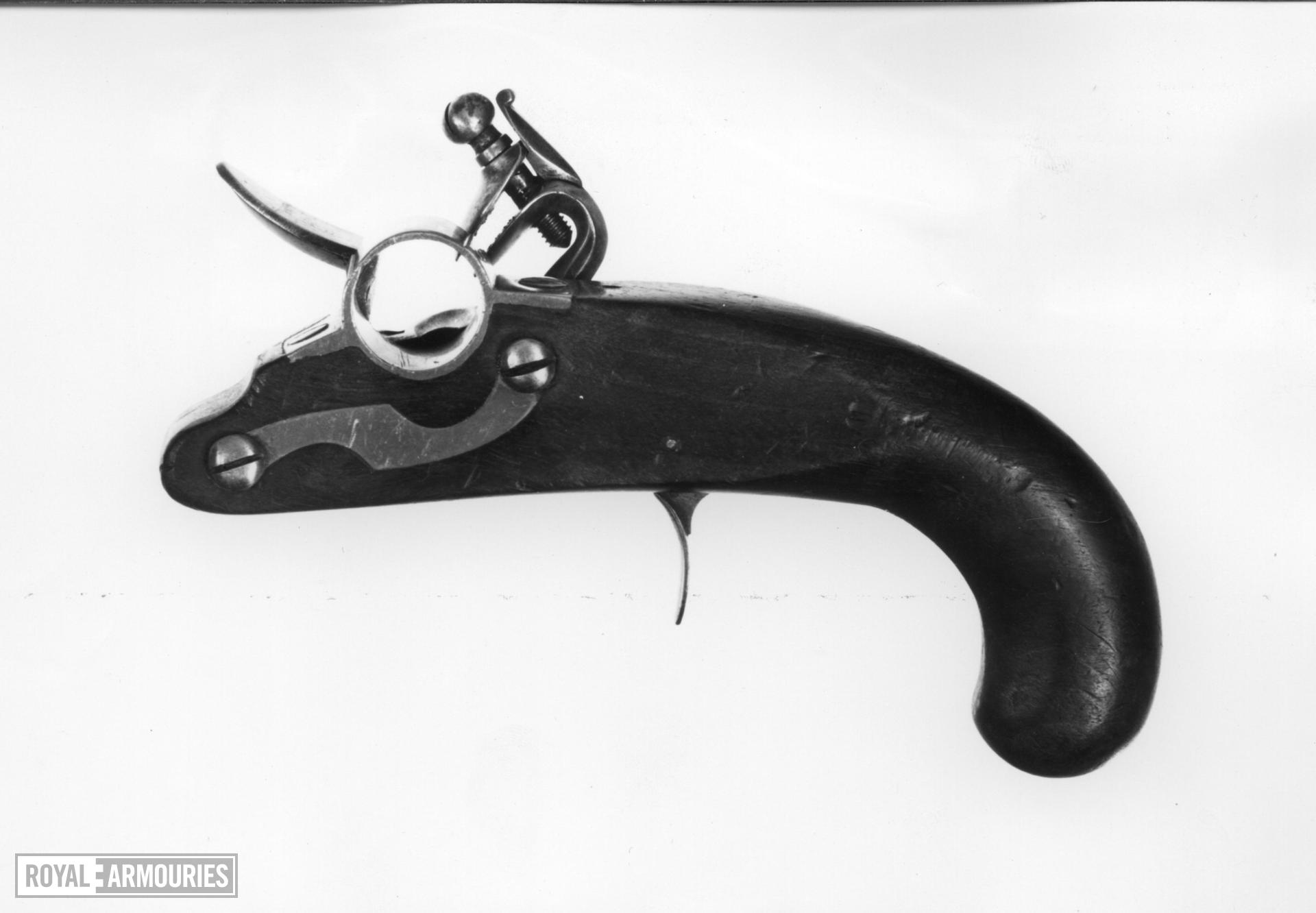 Flintlock igniter - By Theophilus Richards Probably for igniting port fires