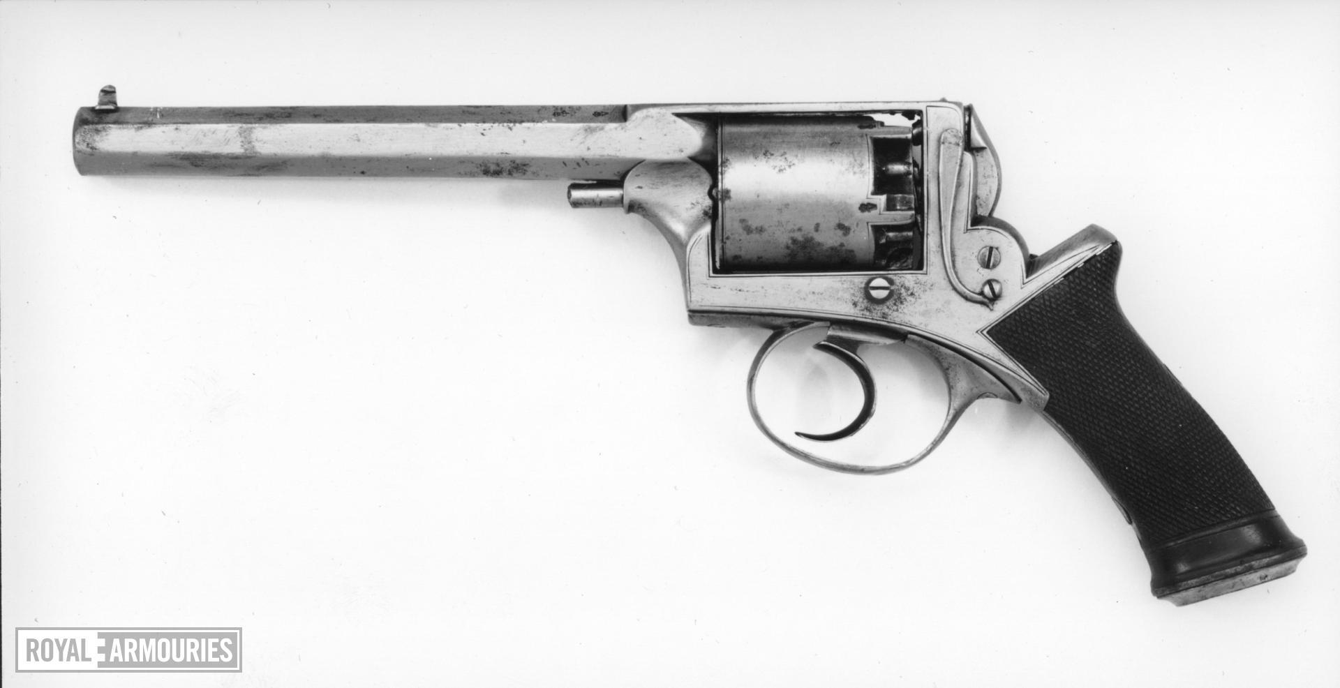 Percussion five-shot revolver - Deane Adams and Deane Model 1851
