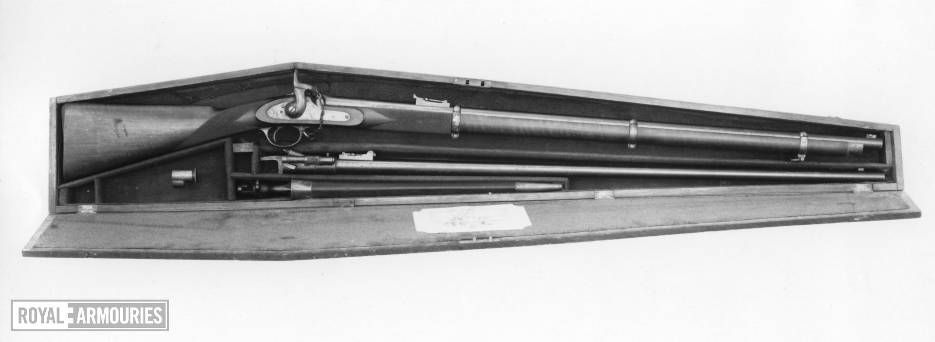 Percussion target rifle - Kerr rifle