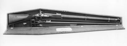 Thumbnail image of Percussion target rifle - Kerr rifle With bayonet and Snider barrel