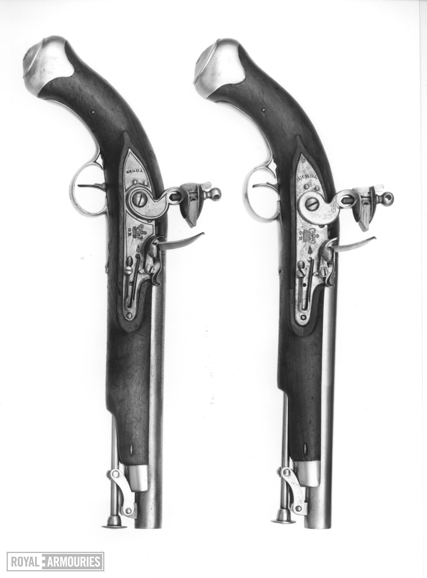 Flintlock military pistol - Light Dragoon Pattern