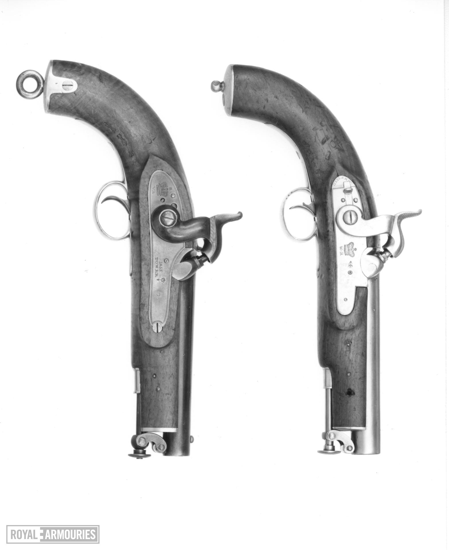 Percussion military pistol - Pattern 1839 Sea Service