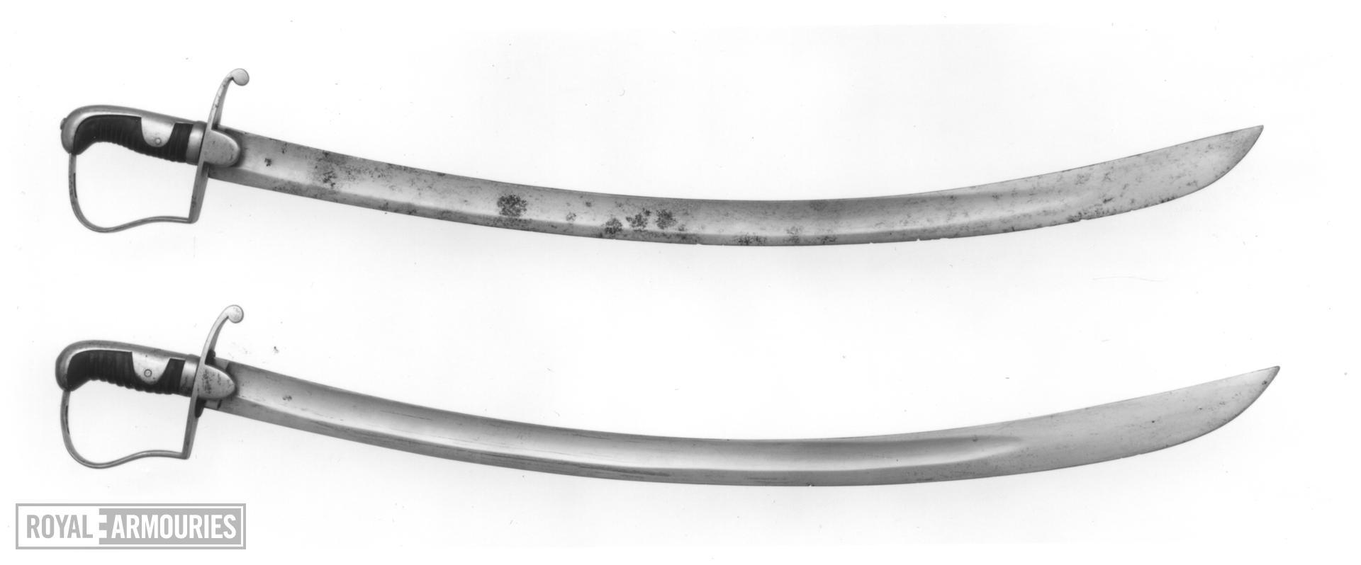 Sword - Pattern 1796 Light Cavalry Trooper's sword