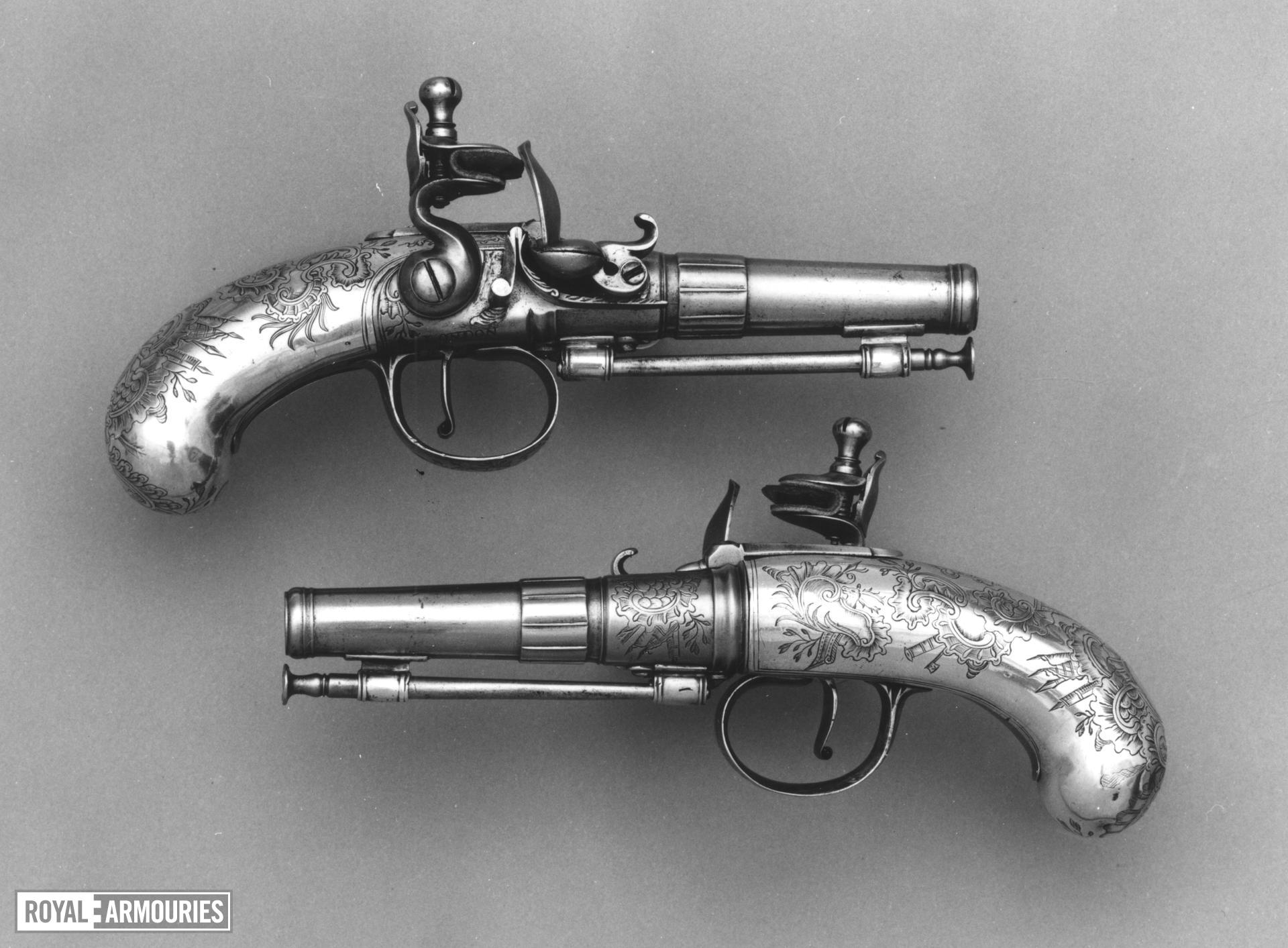 Flintlock pocket pistol