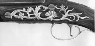 Thumbnail image of Flintlock holster pistol By Twigg One of a pair; see XII.1487