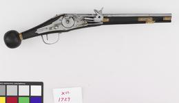 Thumbnail image of Flintlock pistol By D. Egg