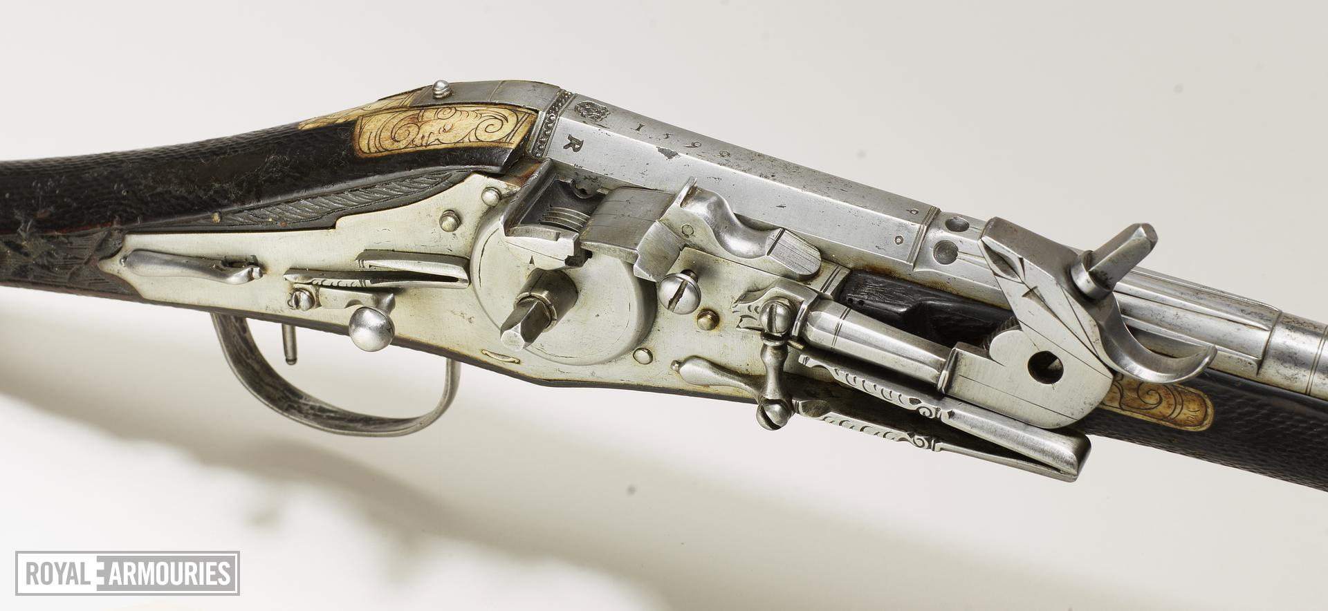 Flintlock pistol By D. Egg