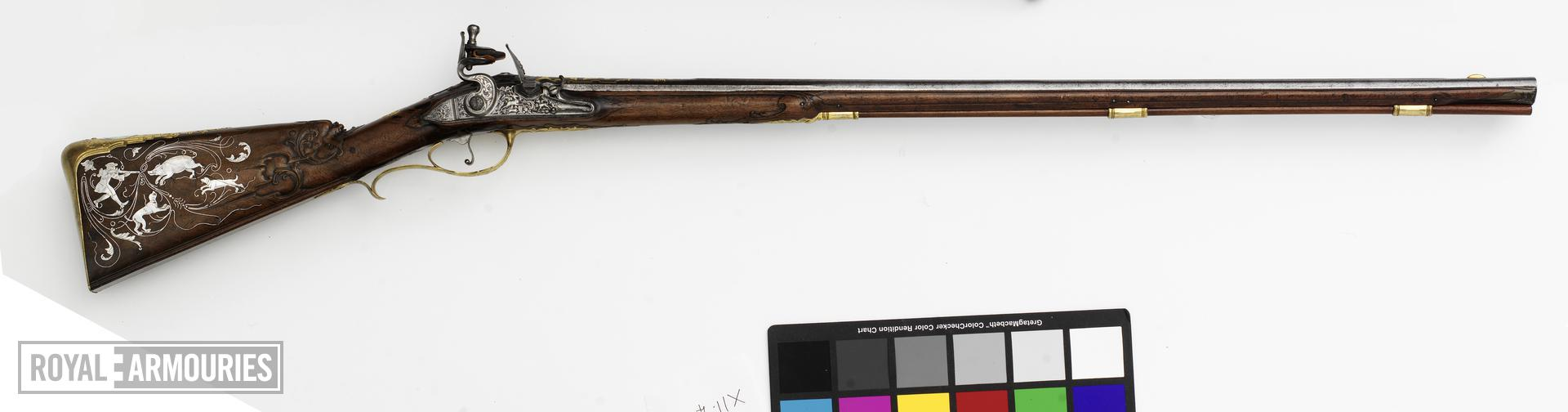 Flintlock boy's gun - By S. Hauschka