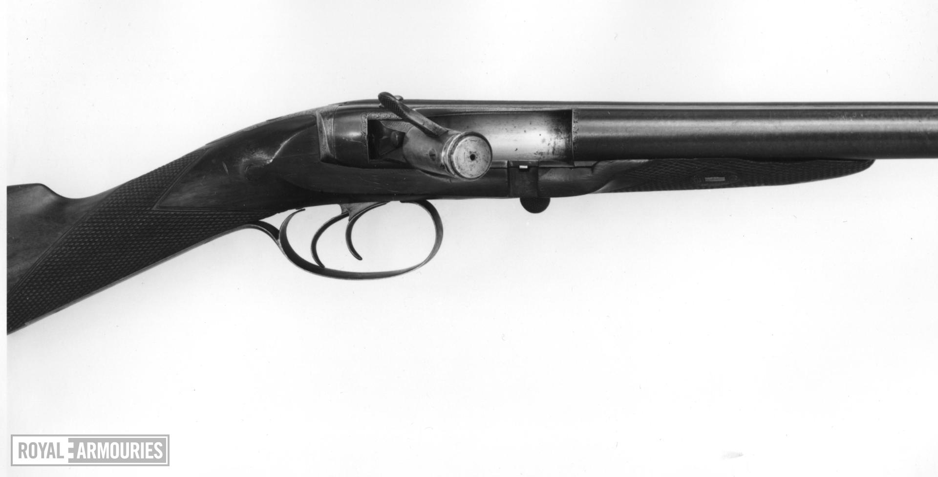 Needlefire breech-loading double-barrelled shotgun - Needham Patent