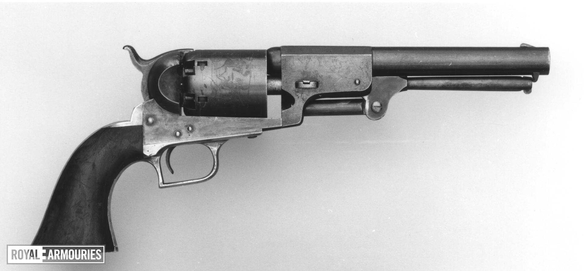 Percussion six-shot revolver - Colt Dragoon 2nd Model