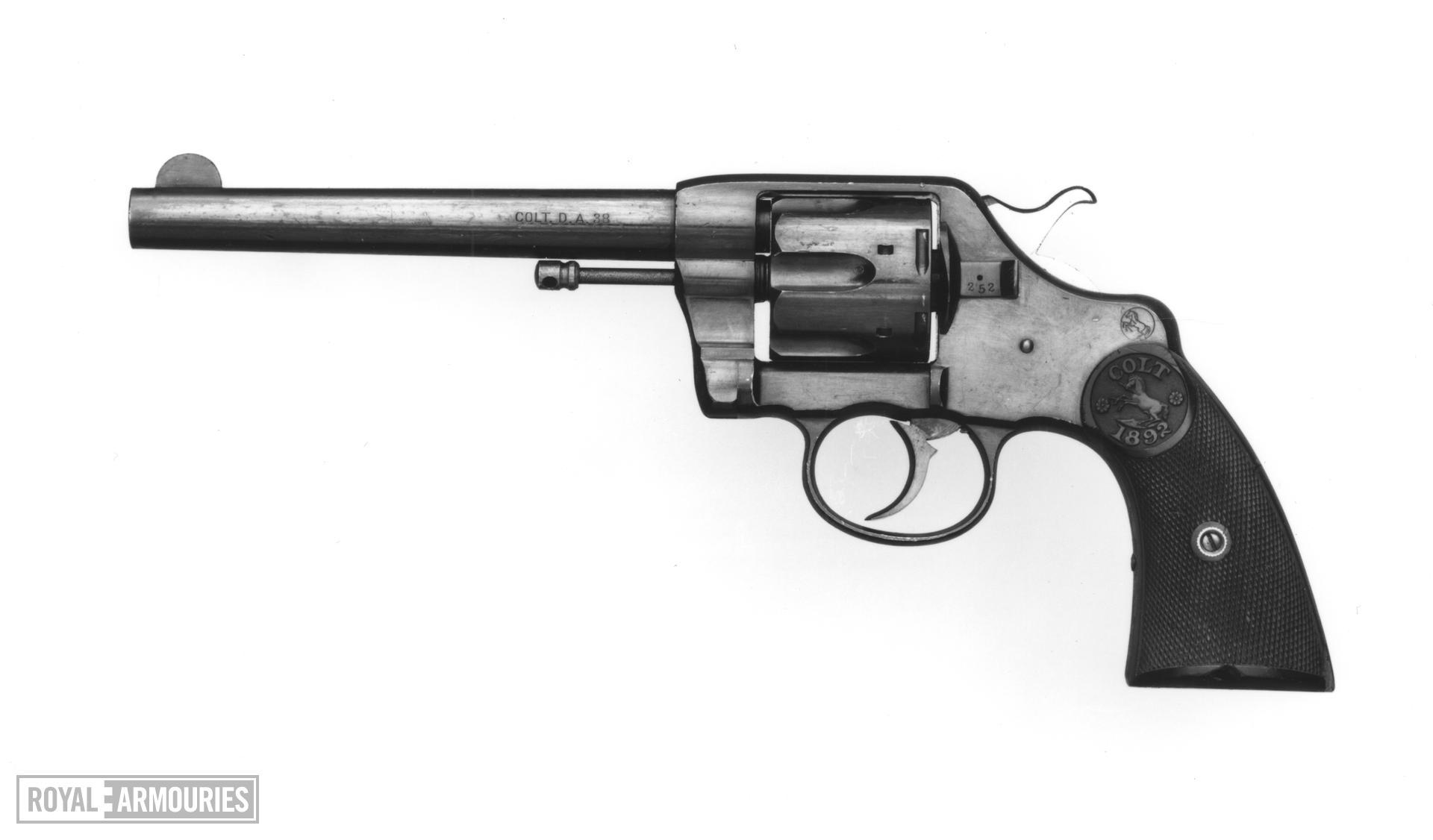Centrefire six-shot revolver - Colt Model 1892