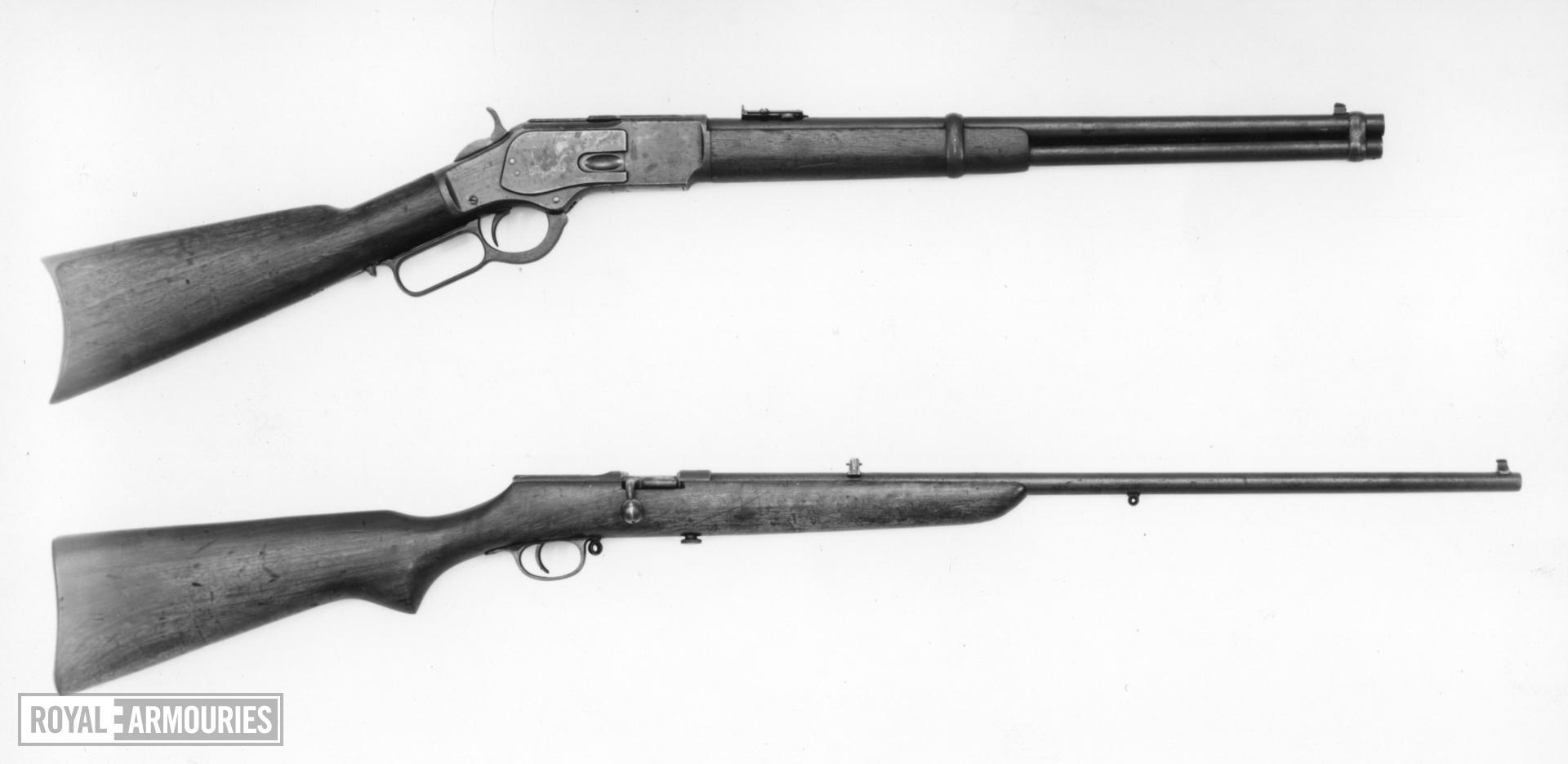 Centrefire lever-action magazine carbine - Winchester Model 1873