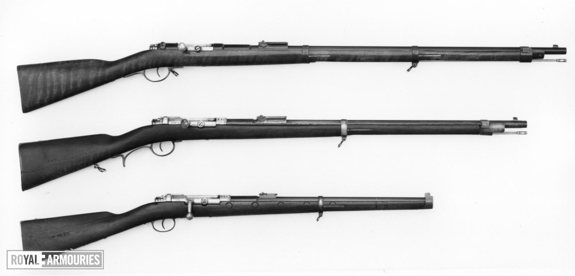 Centrefire bolt-action military rifle - Mauser Model 1871