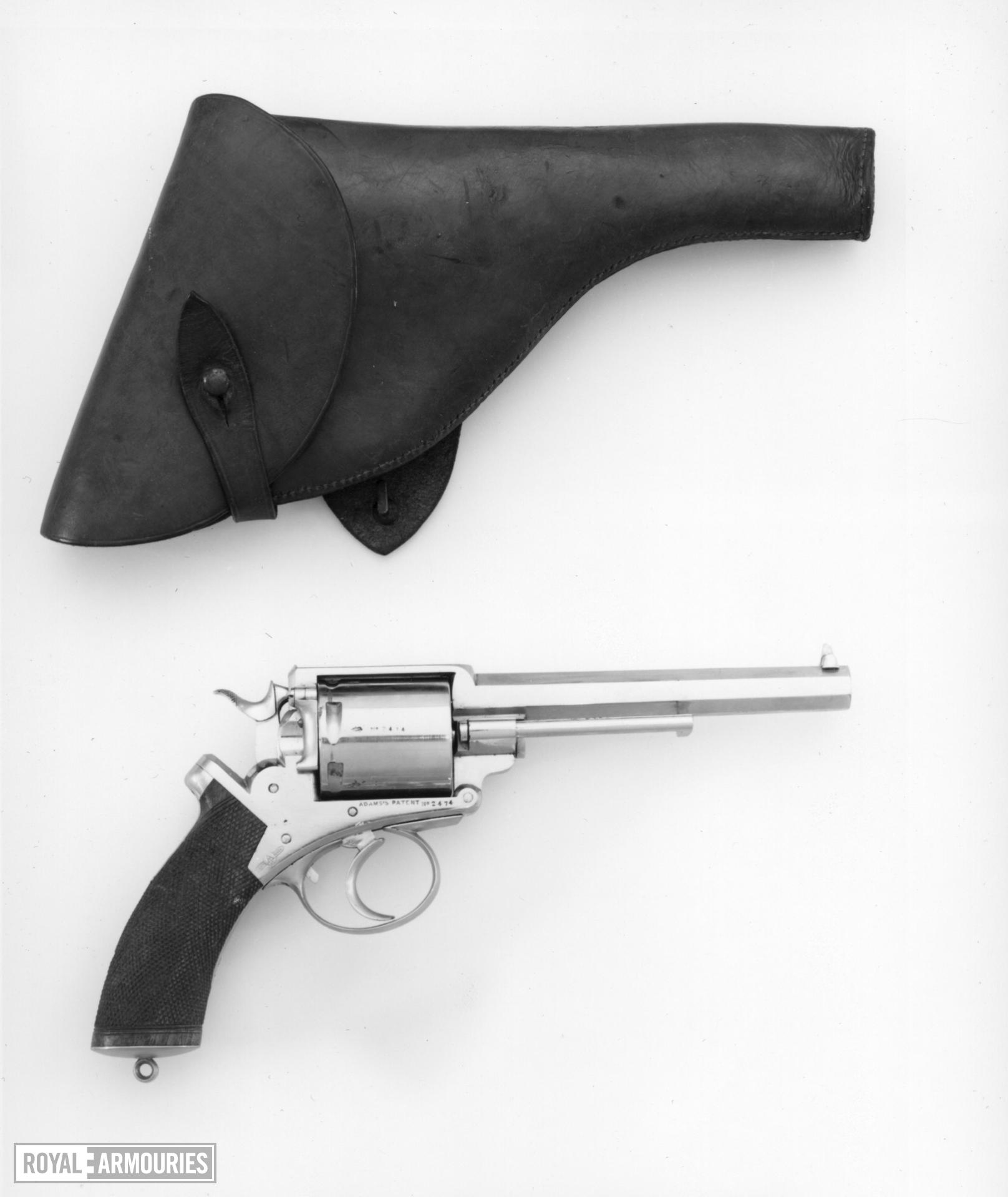 Centrefire six-shot revolver - Adams Model 1867 B