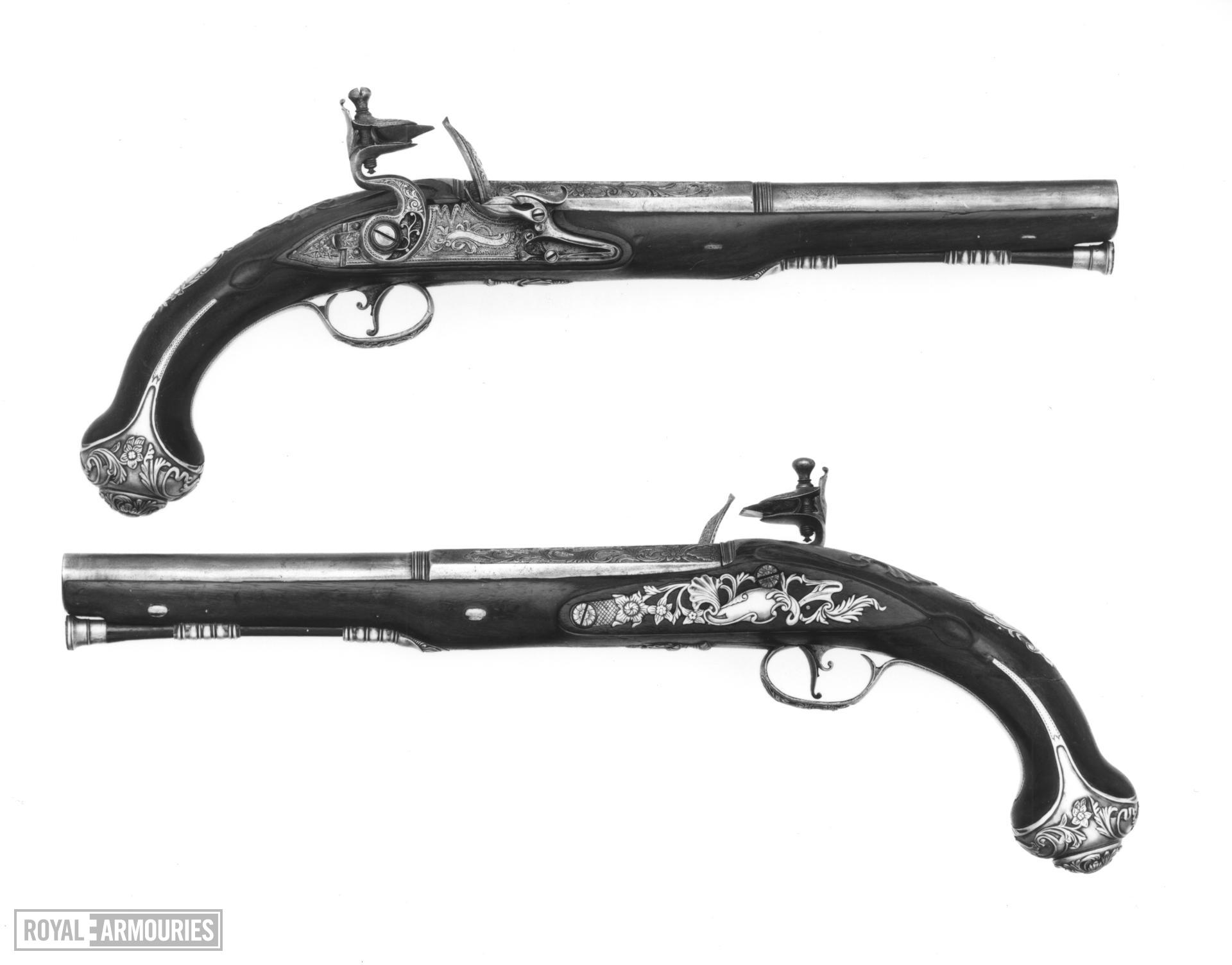 Flintlock magazine pistol
