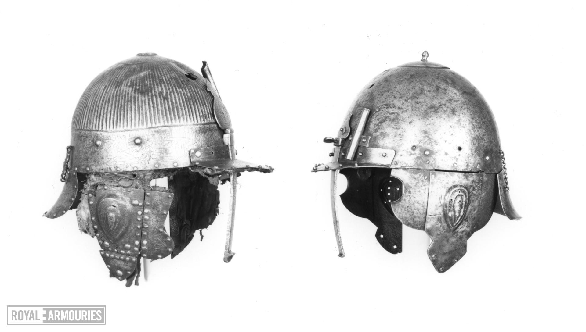Helmet (chichak) From the Arsenal of St. Irene, Constantinople.