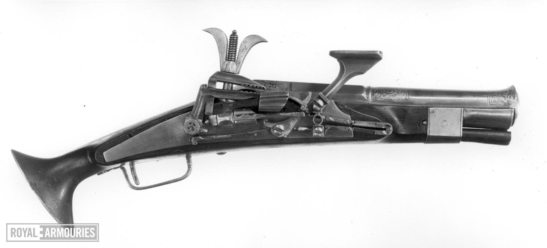 Snaphaunce pistol