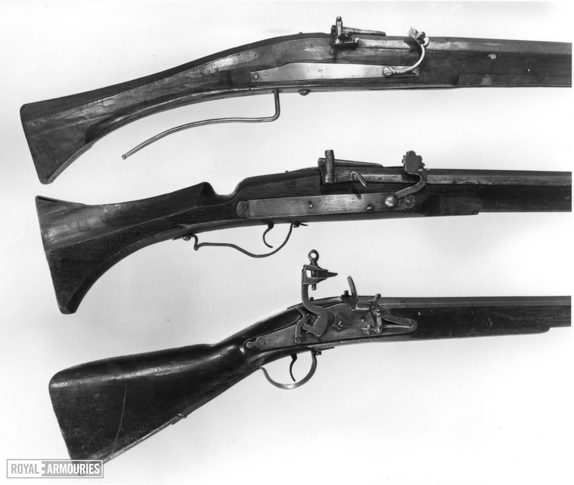 Matchlock muzzle-loading musket - N/A