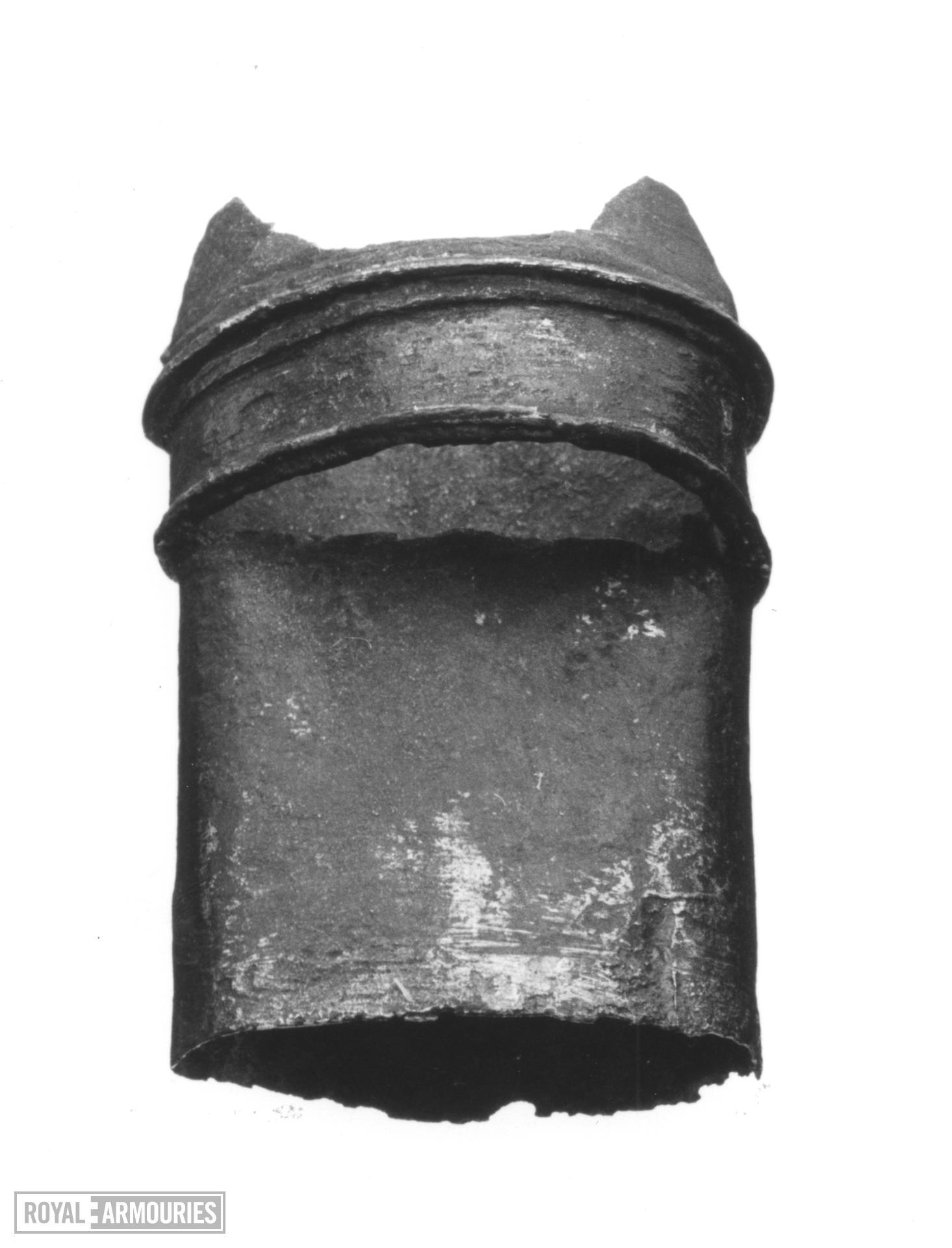 Top locket Top locket for dagger sheath