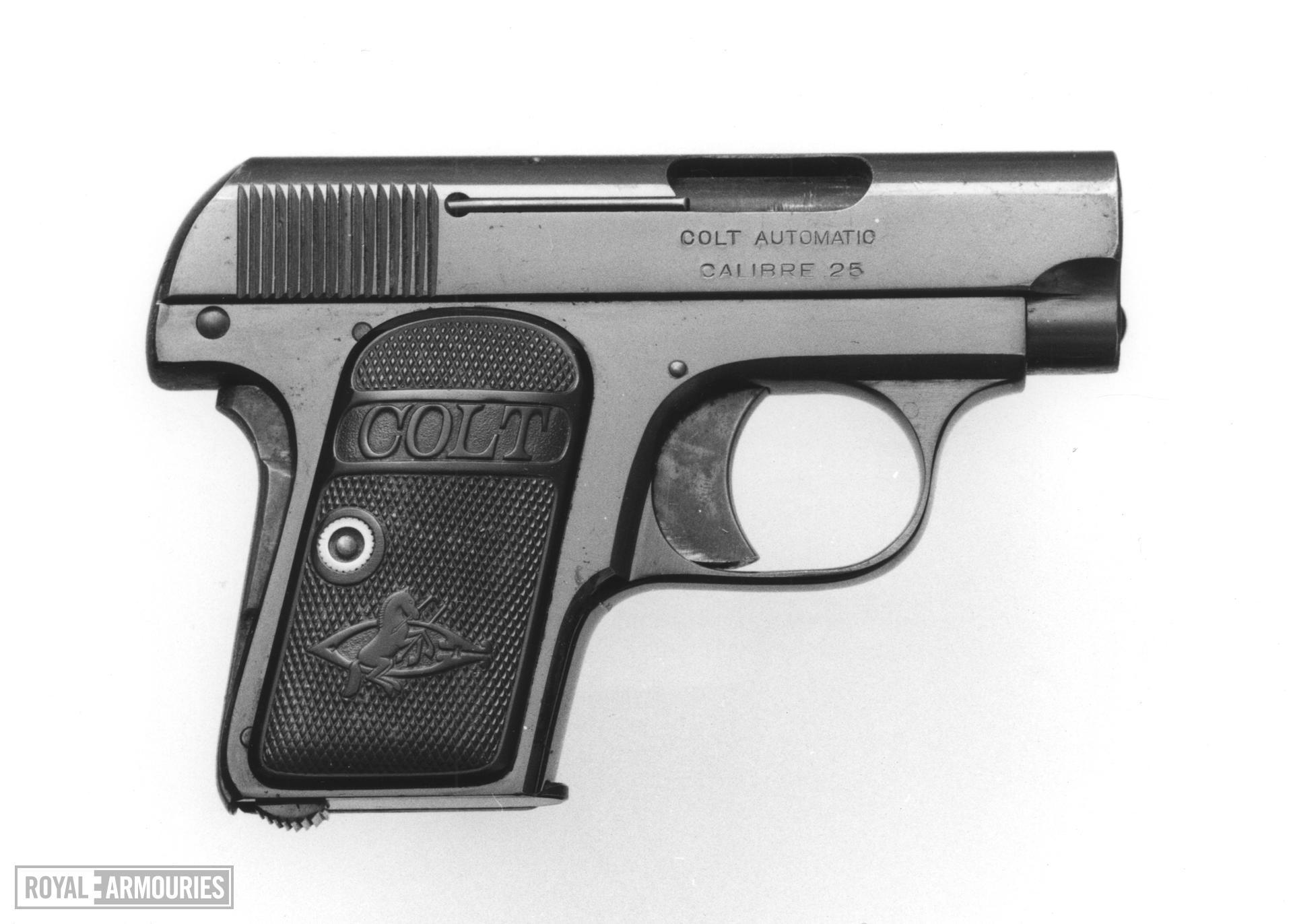 Centrefire self-loading pistol - Colt Model 1903