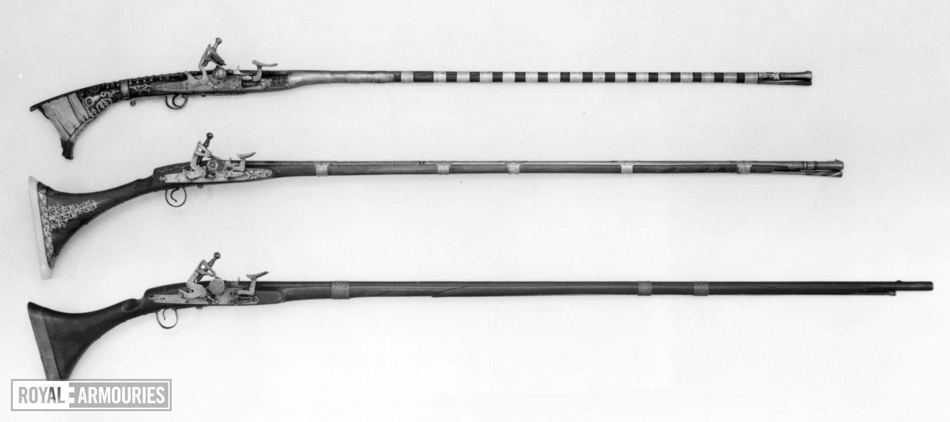 Snaphaunce musket (mukhala)