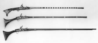 Thumbnail image of Snaphaunce musket (mukhala) With plain stock
