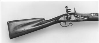 Thumbnail image of Flintlock sporting gun from the armoury of Tipu Sultan