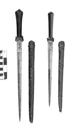 Thumbnail image of Dagger and sheath Ballock dagger and sheath traditionally associated with Colonel Blood
