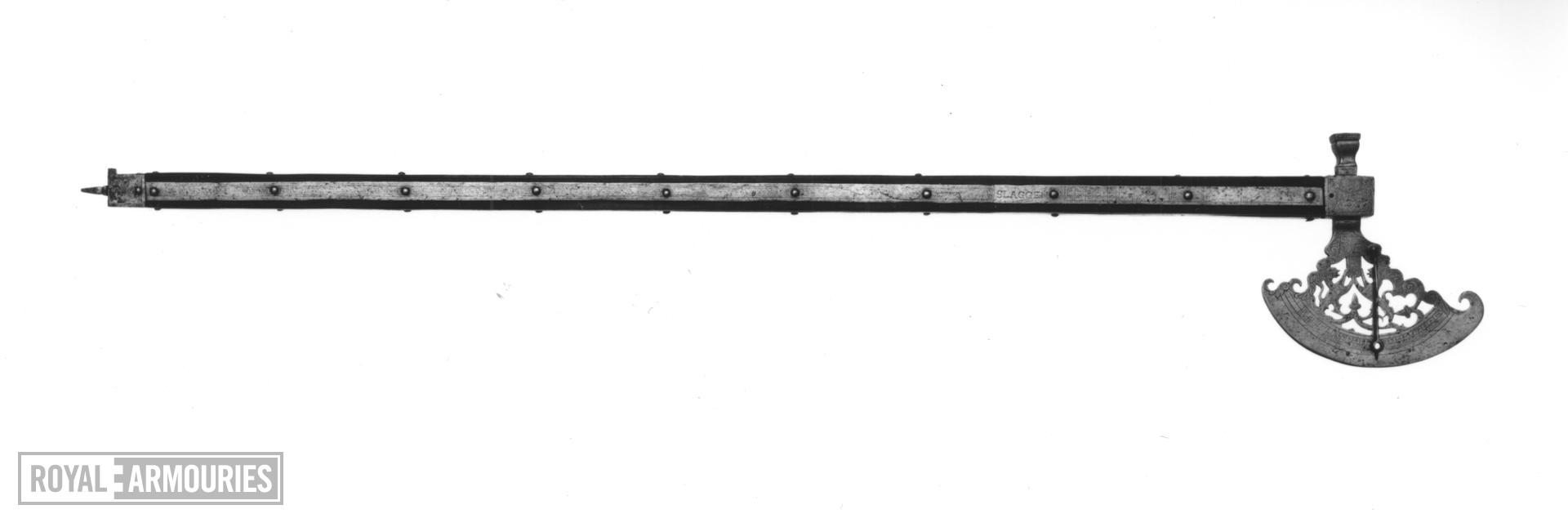 Gunner's quadrant Made for Julius, Duke of Brunswick and Luneburg