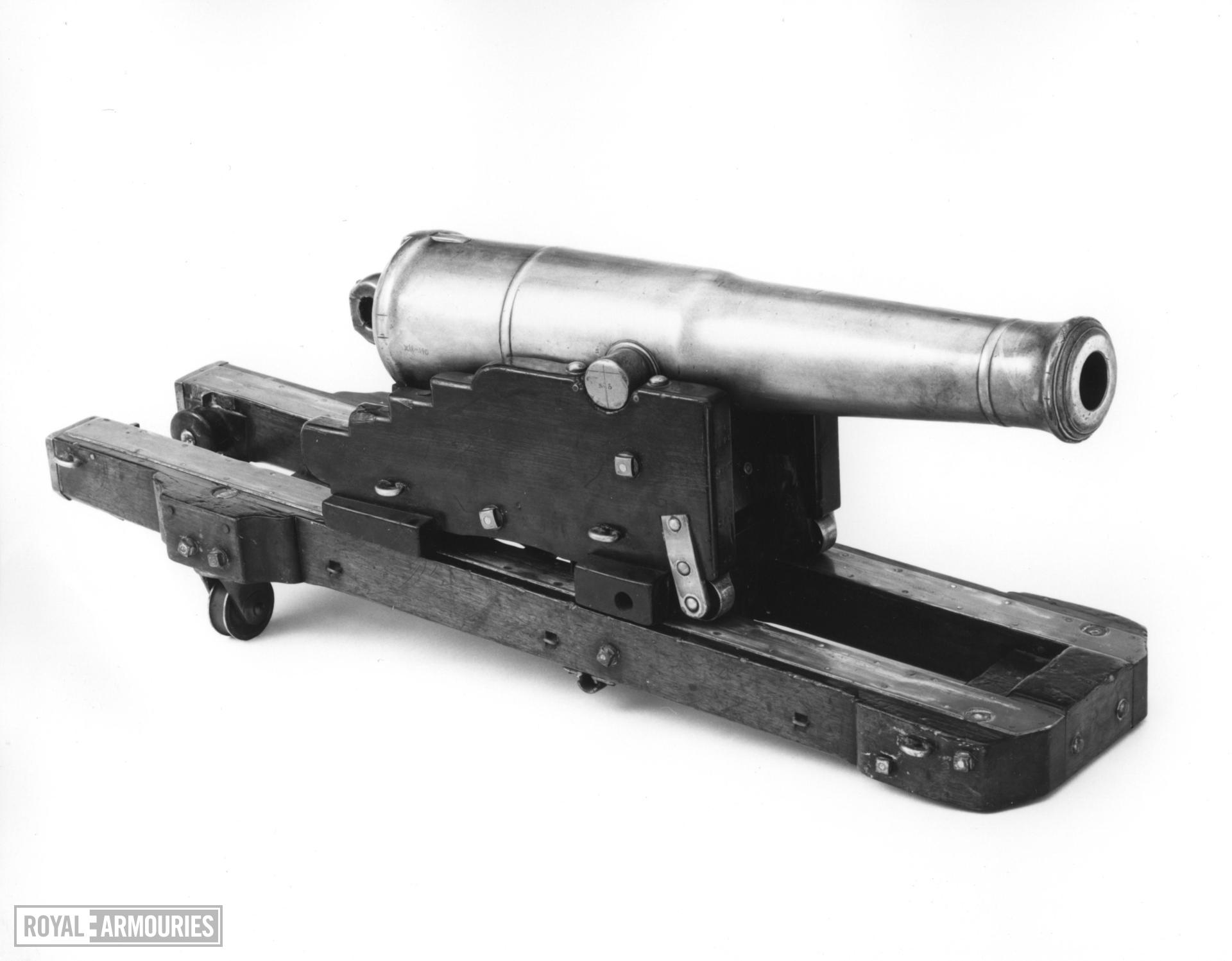 Model gun and carriage - Dundas Pattern With original carriage