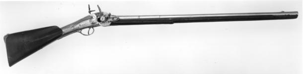 Thumbnail image of Flintlock repeating gun