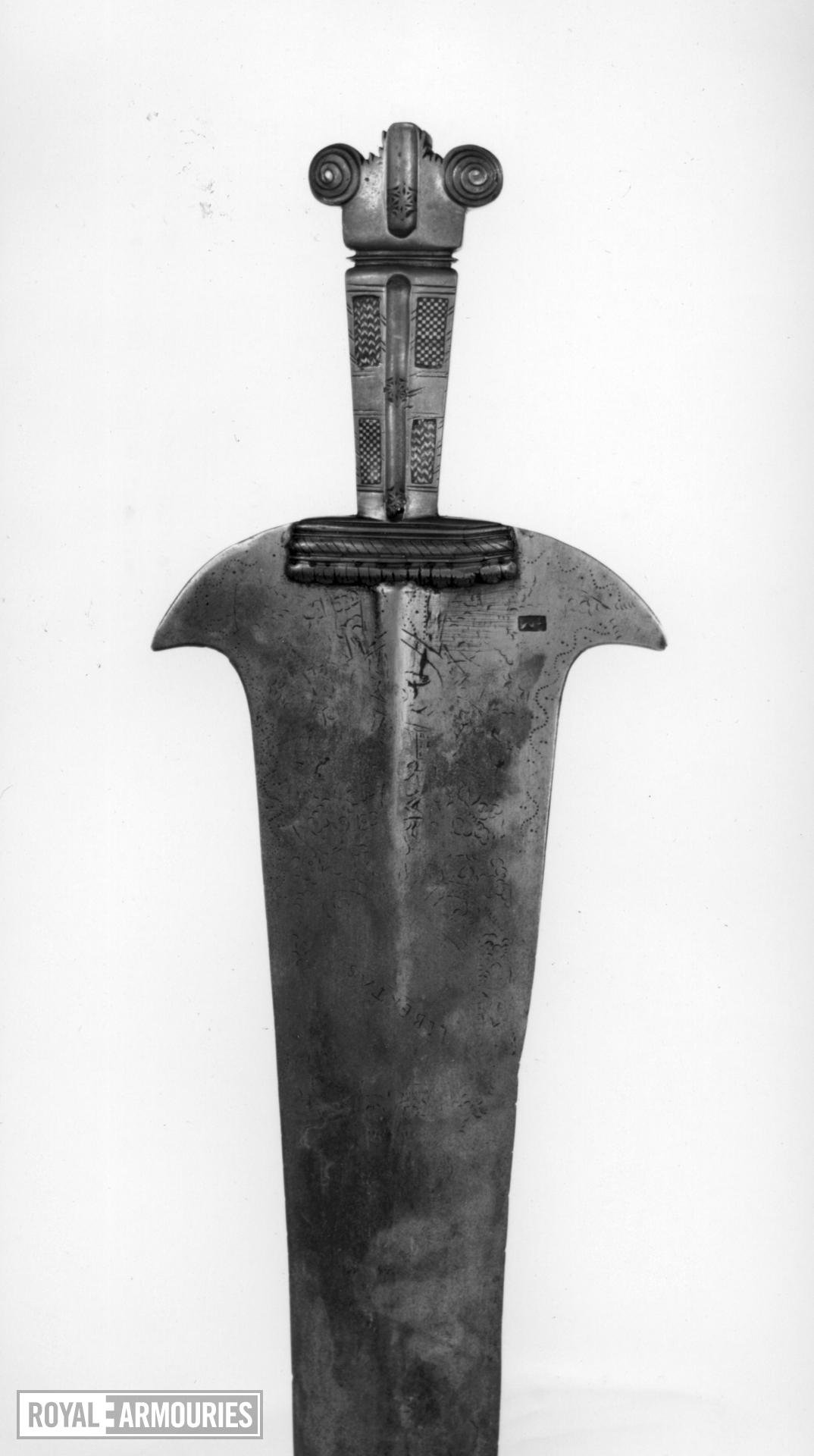 Hilt Hilt from a serving knife Probably from a trousse