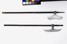 Thumbnail image of Axe (tongi) with brass bound shaft