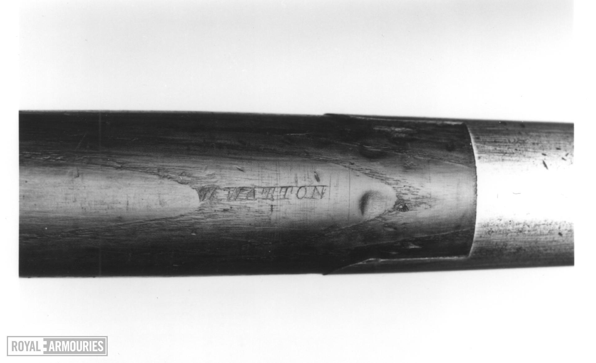 Lance Cavalry lance, Pattern 1846.