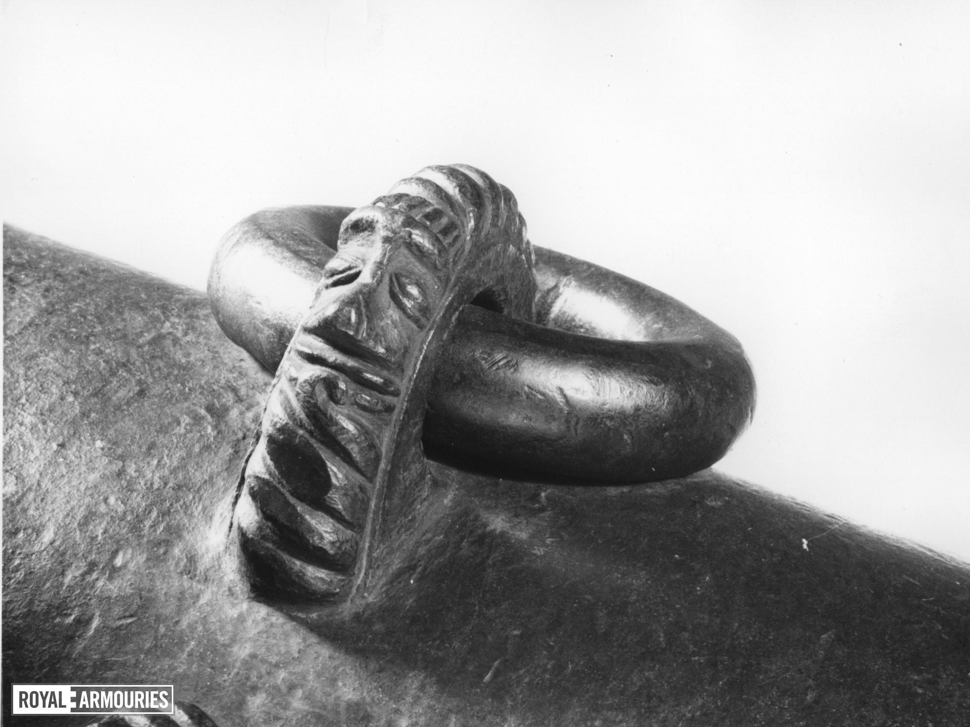 Cannon Made of bronze Cast by Pedro Dias Bocarro