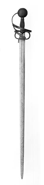 Thumbnail image of Sword Sword with early form of rapier hilt