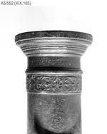 Thumbnail image of 3.75 in saker Made of bronze Cast by Franciscus Arcanus