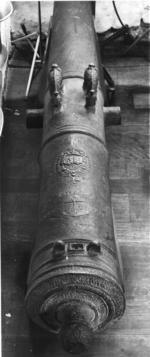 Thumbnail image of 9 pr gun Made of bronze Cast by Guindertal for Armand Jean du Plessis, Cardinal, Duc de Richlelieu