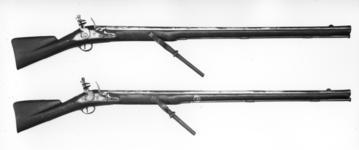 Thumbnail image of Flintlock military wall gun