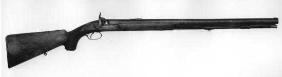 Thumbnail image of Percussion target rifle - Pritchett target rifle By Pritchett and Son