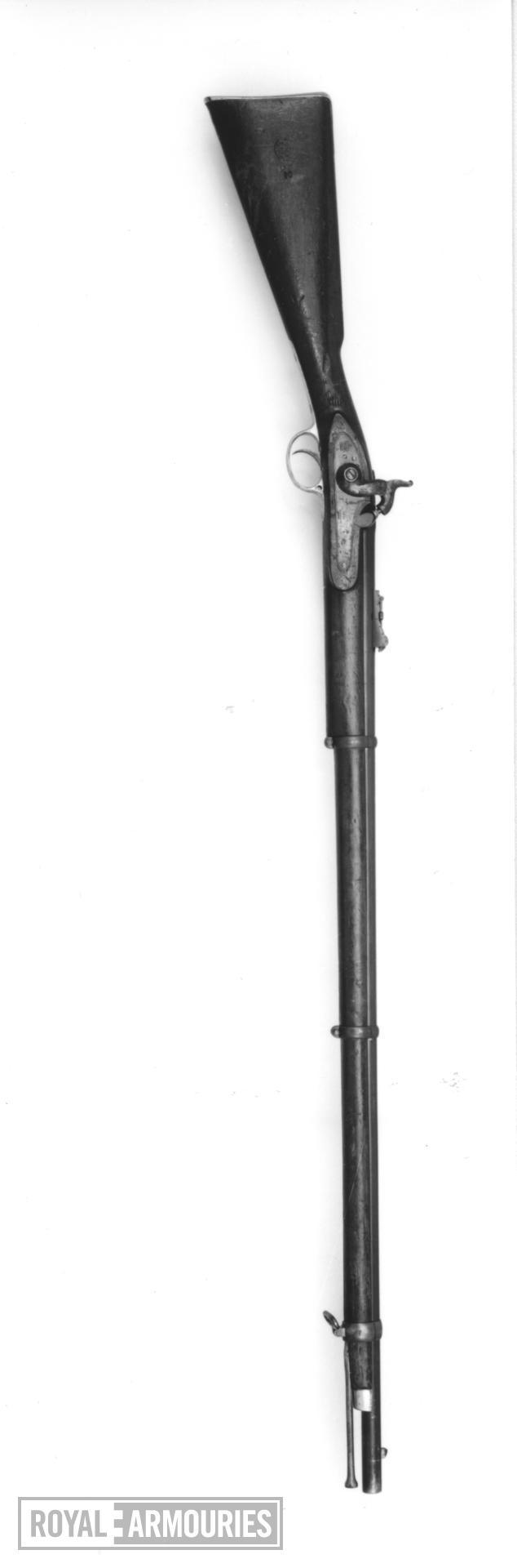 Percussion muzzle-loading military rifle-musket - Pattern 1853
