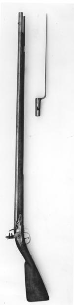 Thumbnail image of Flintlock muzzle-loading musket