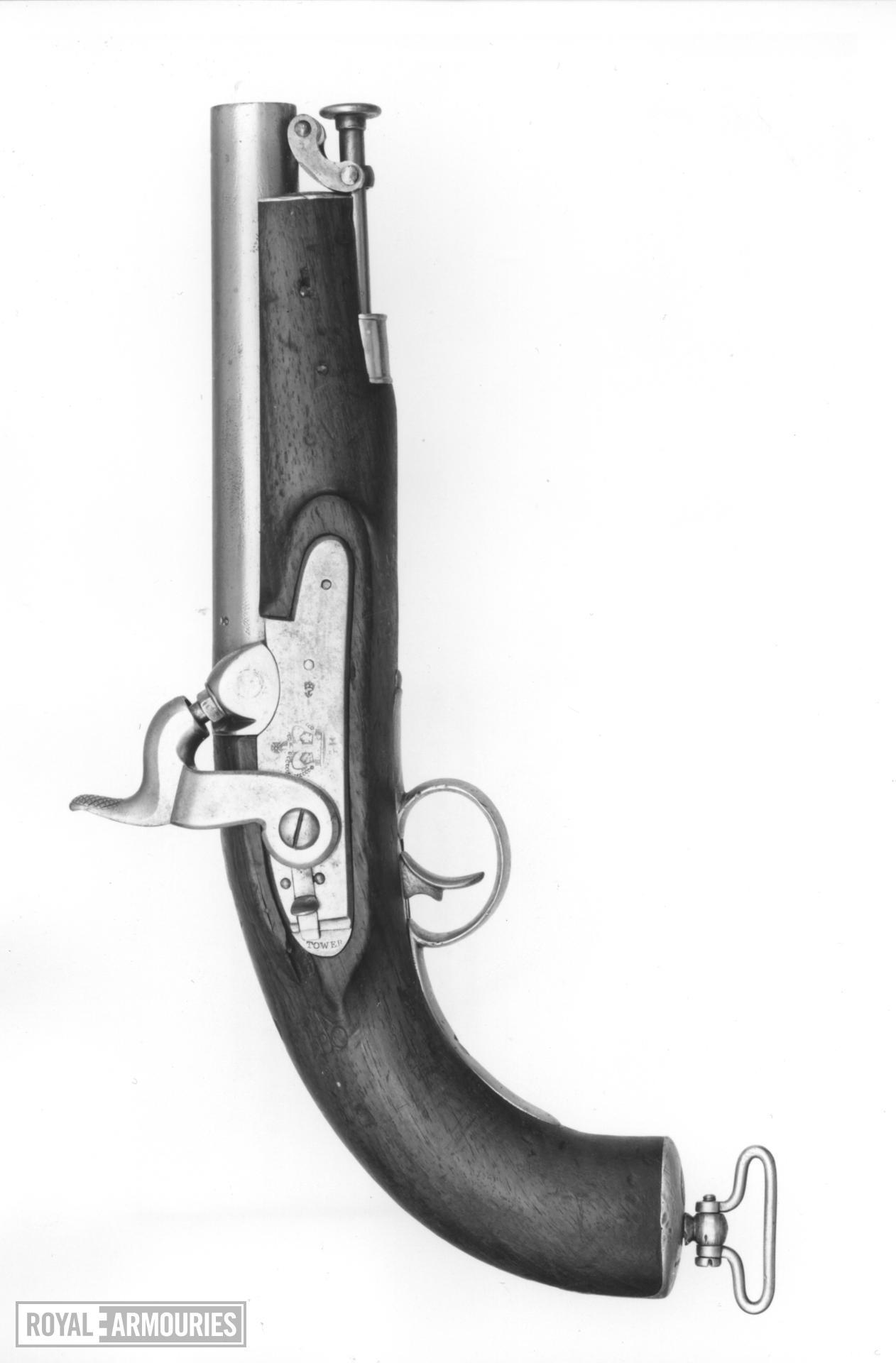 Percussion military pistol - Pattern 1832 Coastguard Model