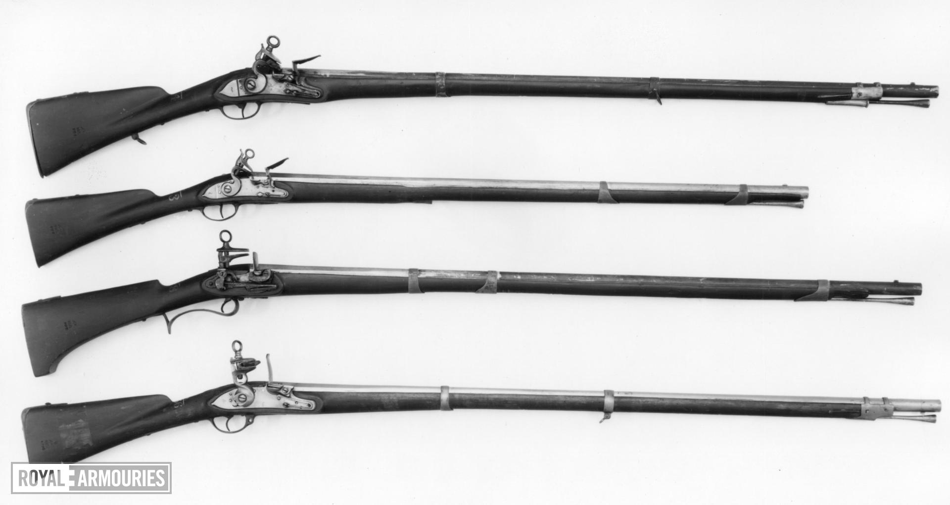 Flintlock muzzle-loading musket - Light Infantry and Constabulary Model