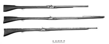 Thumbnail image of Flintlock rocket launcher - By A. Lock Lock by the same maker as on XII.580 and XII.581